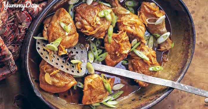Cách làm món gà kho gừng sả thơm ngon nức mũi