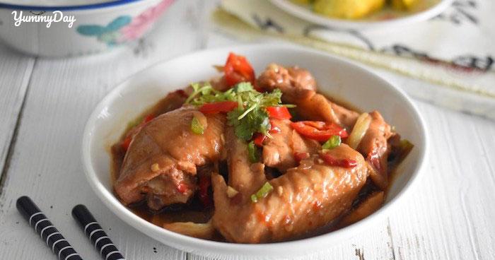 Bí quyết làm món gà kho gừng thơm phức cho bữa cơm gia đình