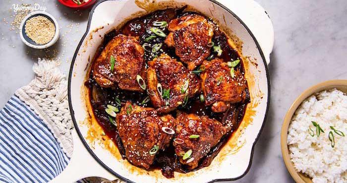 Hướng dẫn cách nấu món thịt gà kho tiêu ngon mà đơn giản