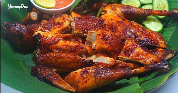 Cách làm gà nướng muối ớt ngon hết nấc ăn không lấn cấn