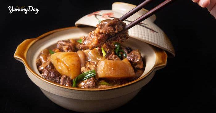 3 cách làm gân bò hầm thơm ngon lạ miệng cho bữa cơm gia đình