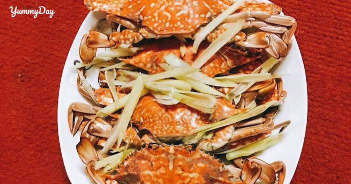 Cách làm món ghẹ hấp sả thơm ngon mang hương vị biển cả