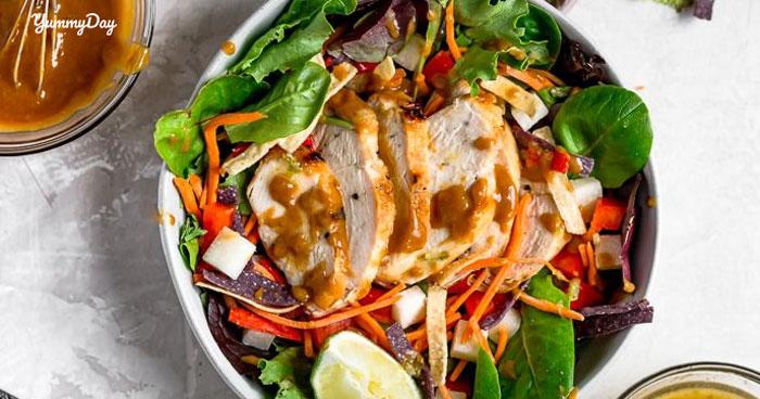 Cách làm gỏi gà rau càng cua thơm ngon khó cưỡng cho gia đình