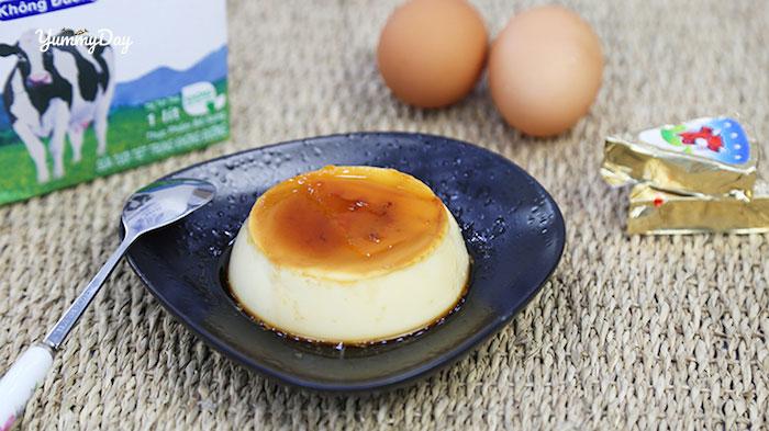 Cách làm bánh flan phô mai thơm ngon béo ngậy ai cũng mê