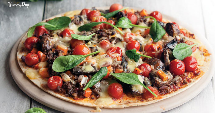 Công thức làm bánh pizza bằng nồi cơm điện cực đơn giản
