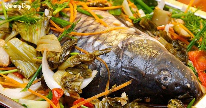 Lẩu cá chép om dưa hấp dẫn và dinh dưỡng, sao có thể bỏ qua?