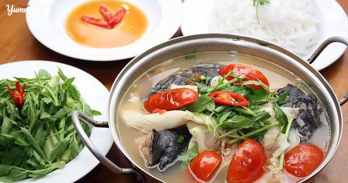Lẩu cá lăng măng chua ngon số dách siêu dễ nấu