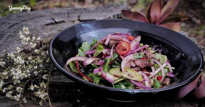 Đổi khẩu vị với món nộm thịt bò hành tây thơm ngon kiểu Thái