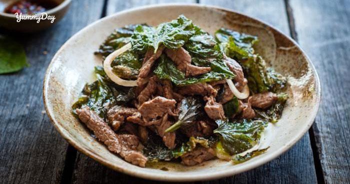 Cách làm thịt bò xào lá lốt đơn giản thơm ngon tại nhà