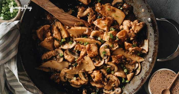 Bí quyết nấu nấm rơm kho tiêu siêu ngon đơn giản tại nhà