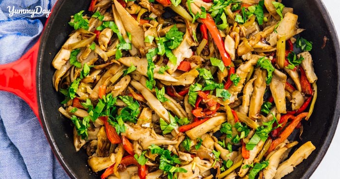 Cách làm nấm sò xào đơn giản nhưng siêu bắt cơm