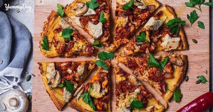 Độc đáo cách làm Pizza chay ngon bất ngờ