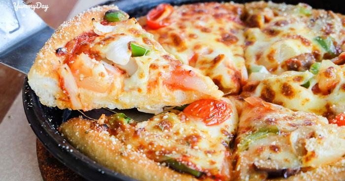 Bỏ túi công thức làm pizza hải sản thơm ngon mà đơn giản tại nhà