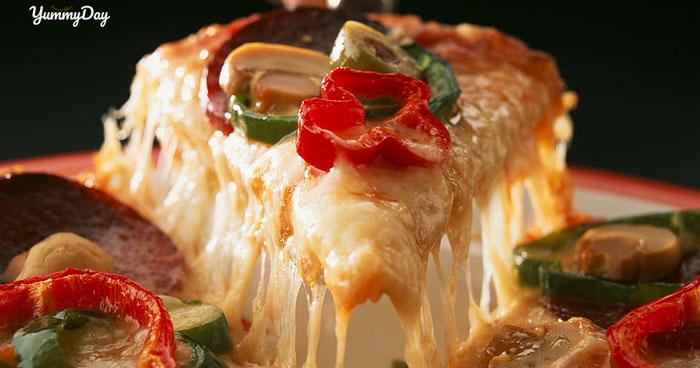 Công thức làm pizza thập cẩm ngon tuyệt vời ngay tại nhà