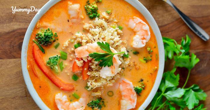 Bật mí bí quyết nấu súp tôm đầy dinh dưỡng cho bữa sáng