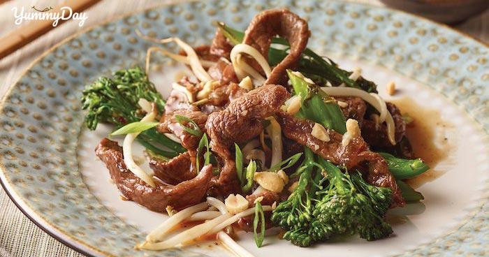 Cách làm thịt bò xào giá thơm ngon bổ dưỡng chuẩn cơm mẹ nấu