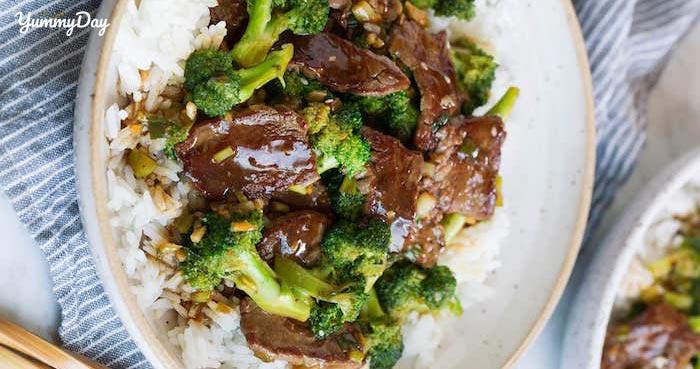 Thịt bò xào súp lơ thơm ngon bổ dưỡng chiêu đãi cả gia đình