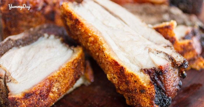 Cách làm thịt heo quay bằng lò nướng và bằng chảo siêu ngon