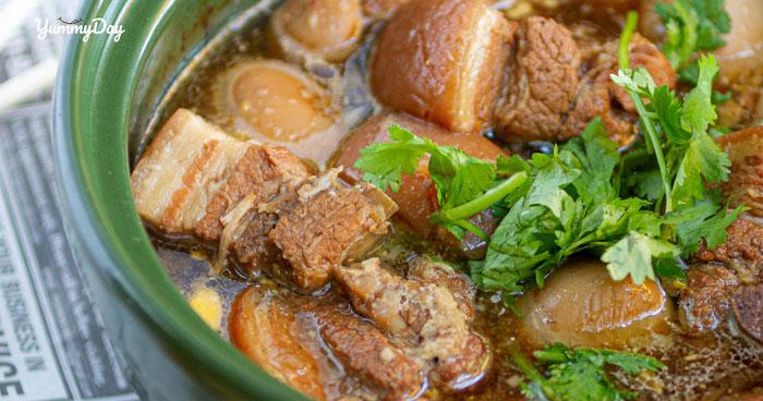 Cách làm thịt kho trứng vịt ngon trứng ngọt thịt mê tít