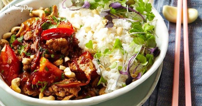 Thịt lợn xào cà chua - biến tấu món cũ thành món mới siêu ngon