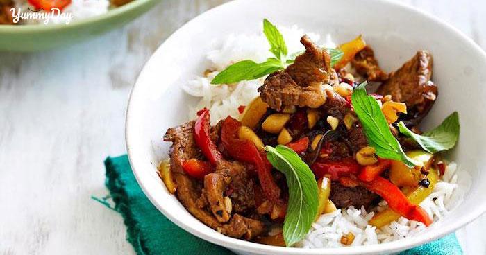 Thịt heo xào sả ớt ngon tê tái cõi lòng lại siêu đơn giản