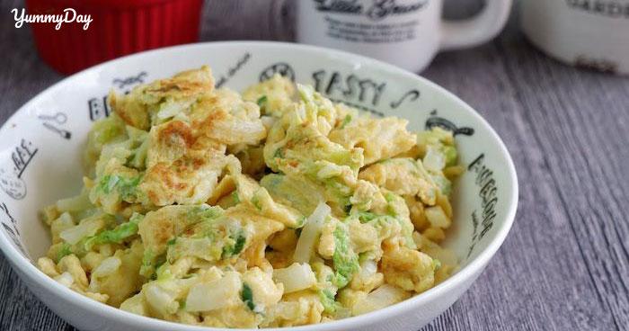 Cách làm trứng chiên hành tây ngon tê tái cõi lòng