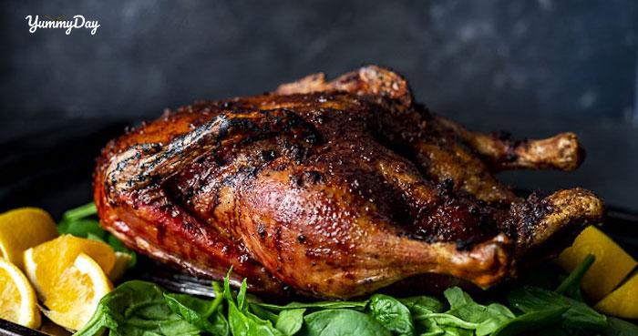 Cách làm vịt nướng muối ớt đơn giản đổi khẩu vị cho gia đình