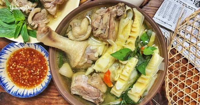 Cách làm món vịt xáo măng cho bữa cơm gia đình thêm ấm áp